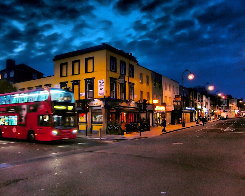 Kentish Town, London @ Night
