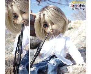 Kurt Cobain doll