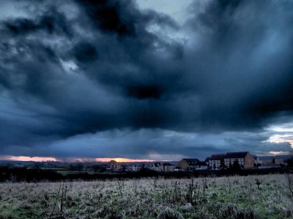 Clouds, Derby, UK