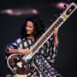 Anoushka Shankar:GlastonburyFestival?JohnKerridge2