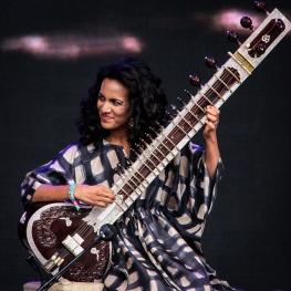 Anoushka Shankar:GlastonburyFestival?JohnKerridge2