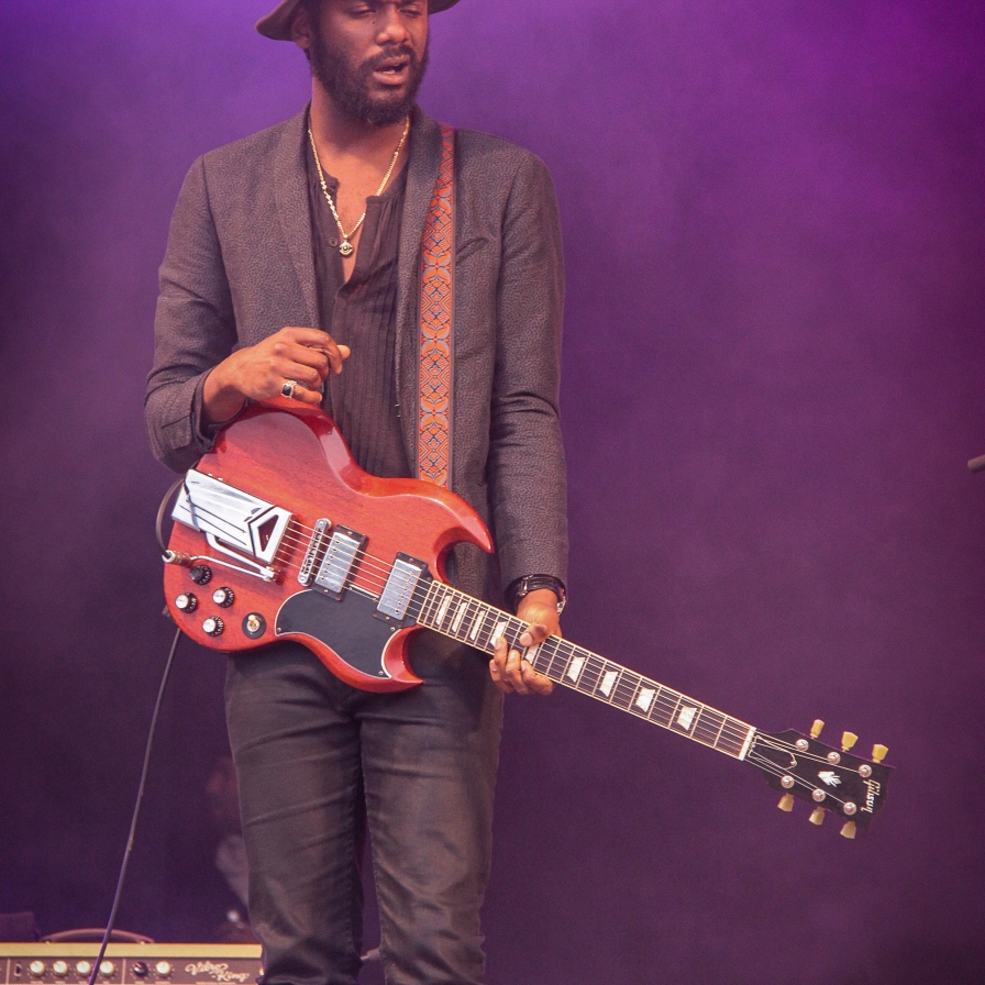 Gary Clark Jr:GlastonburyFestival:JohnKerridge3