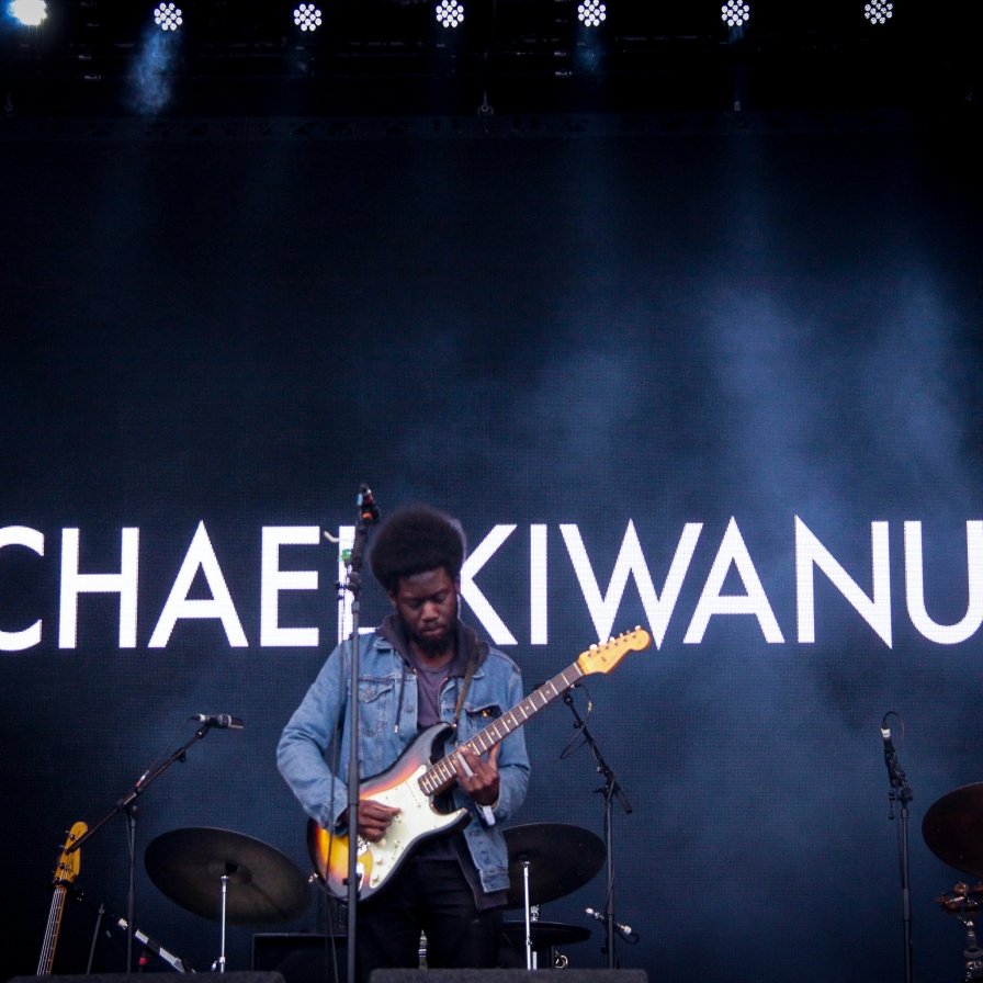 Michael Kiwanuka:GlastonburyFestival:JohnKerridge1
