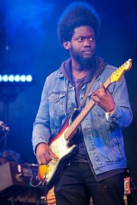 Michael Kiwanuka:GlastonburyFestival:JohnKerridge2